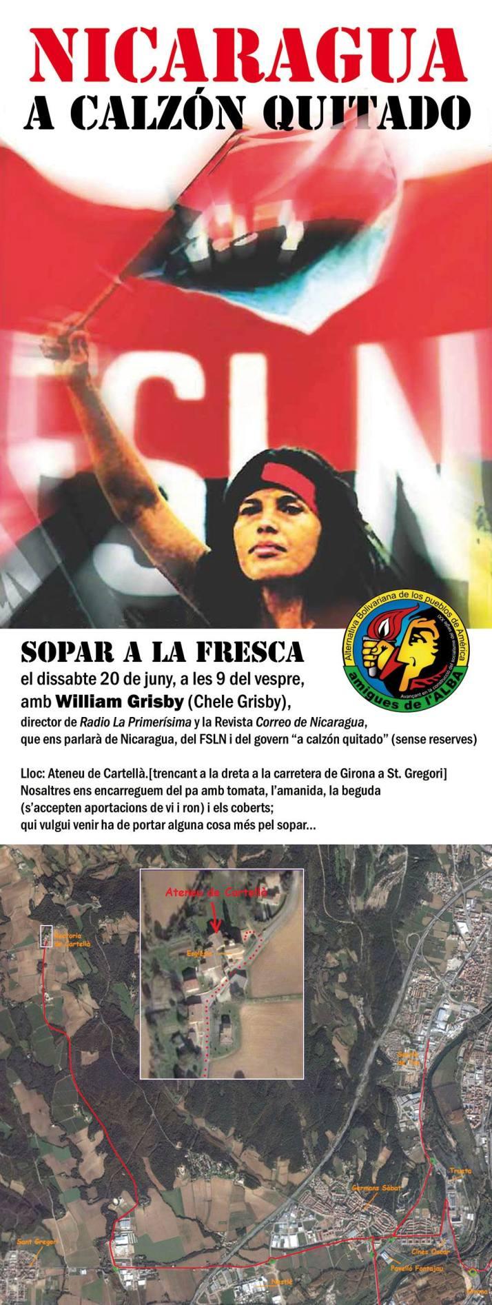 Nicaragua a Calzon quitado